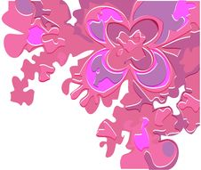 Free Lilac Abstract Flower Royalty Free Stock Images - 18570669