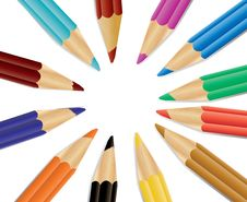 Free Crayons Stock Photography - 18571202