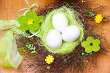 Free Spring Nest Royalty Free Stock Image - 18572366