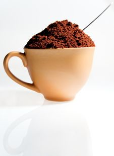 Free Strong Coffee Royalty Free Stock Photos - 18572668