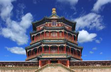 Free The Foxiangge Of Summer Palace Stock Photo - 18573230