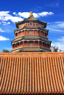 Free The Foxiangge Of Summer Palace Stock Photos - 18573413