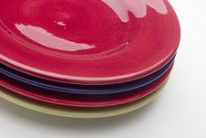 Free Ceramic Plates Royalty Free Stock Photos - 18576578