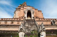 Free Phra Chedi Luang Royalty Free Stock Photo - 18576785