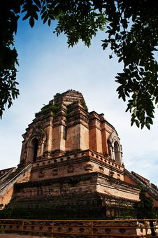 Free Phra Chedi Luang Royalty Free Stock Images - 18576869
