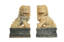 Free Stone Lions Staute Stock Photography - 18577022
