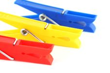 Free Colored Clothespins Stock Photos - 18577063
