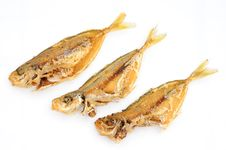 Free Deep Fried Fishes Royalty Free Stock Photo - 18577065