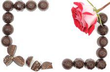 Free Rose And Chocolate Stock Photos - 18577223