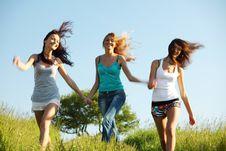 Free Fun Girlfriends Royalty Free Stock Photos - 18577458