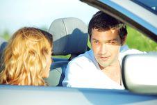 Free Love In Cabrio Stock Image - 18577821