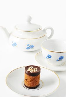 Free Tea With Cookies Royalty Free Stock Photography - 18578057