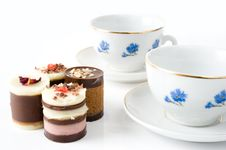 Free Tea With Cookies Royalty Free Stock Image - 18578106