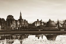 Free Old City Is Sukothai Stock Photo - 18578480