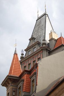 Free Prague S Roof Detail Royalty Free Stock Photo - 18579215