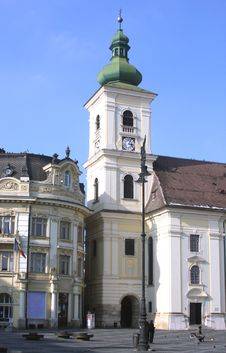 Free Sibiu Bell Tower Stock Image - 18579371
