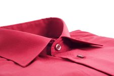 Free Fastened Red Shirt Royalty Free Stock Photo - 18579445