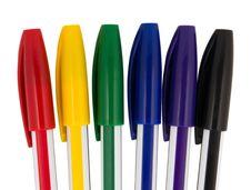 Free Ballpoint Pens Stock Photo - 18579860