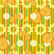 Free Striped Pattern With Butterfly Stock Photos - 18580483
