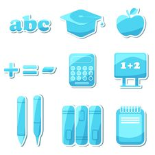 Free Education Icon Royalty Free Stock Images - 18581159