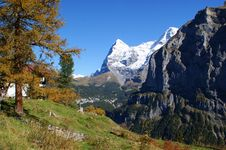 Free Autumn In Switzerland Royalty Free Stock Photo - 18581585
