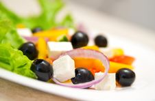 Free Greek Salad Stock Image - 18582431