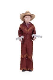 Free Boy Dressed As A Cowboy Royalty Free Stock Photo - 18582445