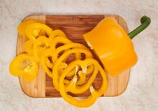 Free Yellow Pepper Royalty Free Stock Photography - 18582687