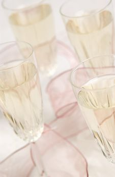 Free Champagne Glasses Stock Image - 18582761