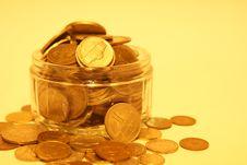 Free Money Jar Royalty Free Stock Photography - 18582827