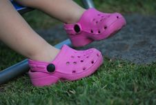 Free Kid Feet Stock Images - 18583564