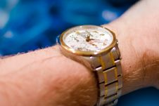 Free Water Resistant Swiss Watch Stock Photography - 18584622