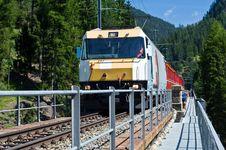 Free Swiss Train Stock Image - 18585591