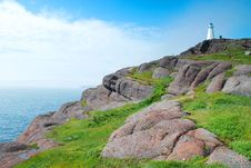 Free Cape Spear Coast Stock Photography - 18585952