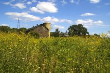 Farm And Meadow Stock Image