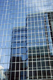 Mirror Skyscraper Royalty Free Stock Images