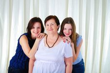Free Three Generations Of Women Together Stock Photo - 18586840