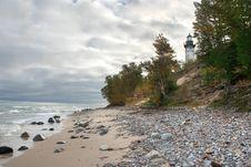 Free Au Sable Point Lighthouse Stock Image - 18587181