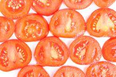 Free Tomato On White Royalty Free Stock Photo - 18587385