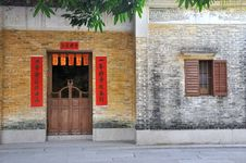 Free Aged Architecture In Southern China Stock Image - 18587771