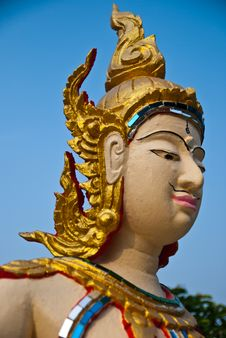 Free Native Thai Style Art Royalty Free Stock Image - 18587916
