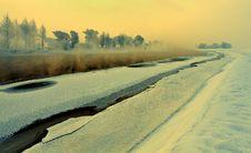 Free Calm Winter Landscape Stock Images - 18588104