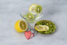 Free Cocktail And Fruit, Wedding Paraphernalia Stock Image - 18588171