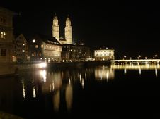 Free Zurich - Grossmunster Stock Photos - 18588263