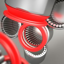 Free Composition Of Bearings Royalty Free Stock Photography - 18588387