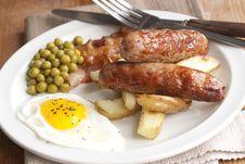 Free English Breakfast Royalty Free Stock Photos - 18588408