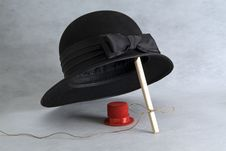 Two Hats Royalty Free Stock Image