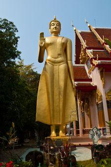 Free A Big Buddha Image Royalty Free Stock Image - 18588866