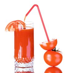 Free Fresh Tomato Juice Royalty Free Stock Photo - 18588985