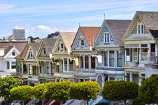 Free The Painted Ladies Stock Photography - 18589482